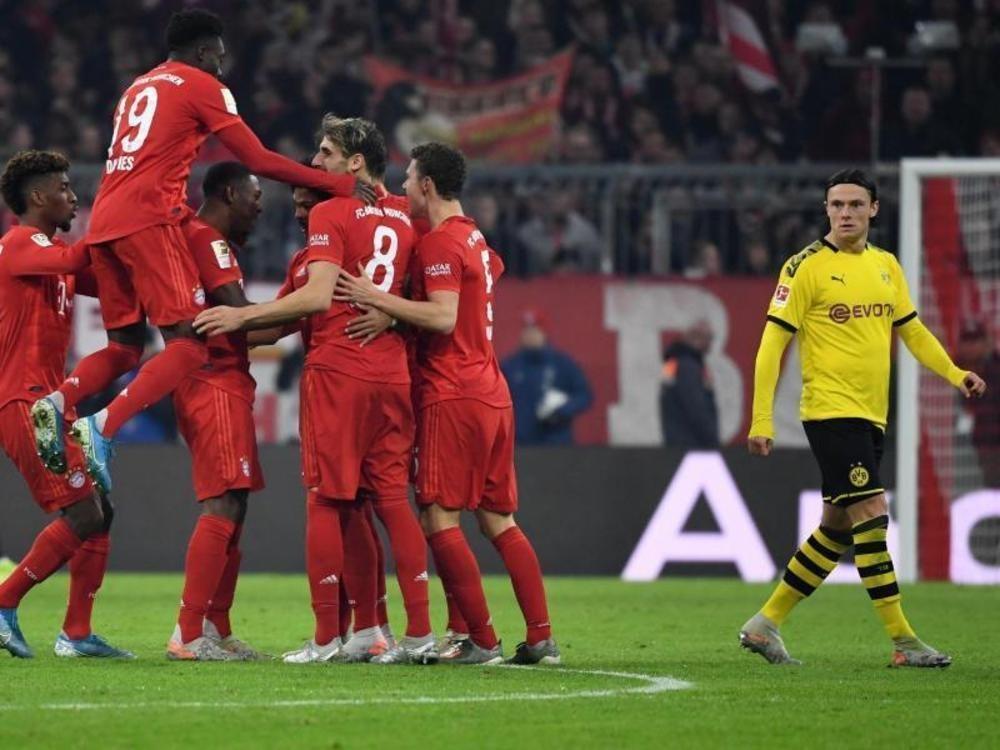 Bayern deklassiert BVB im Topspiel