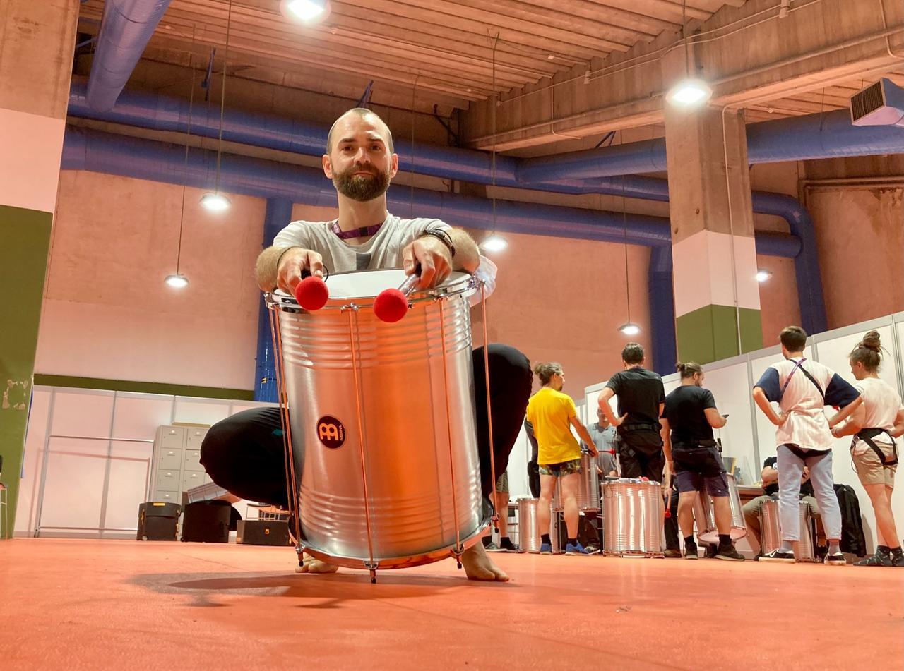 Goslarer Trommler eröffnet die Fußball-EM