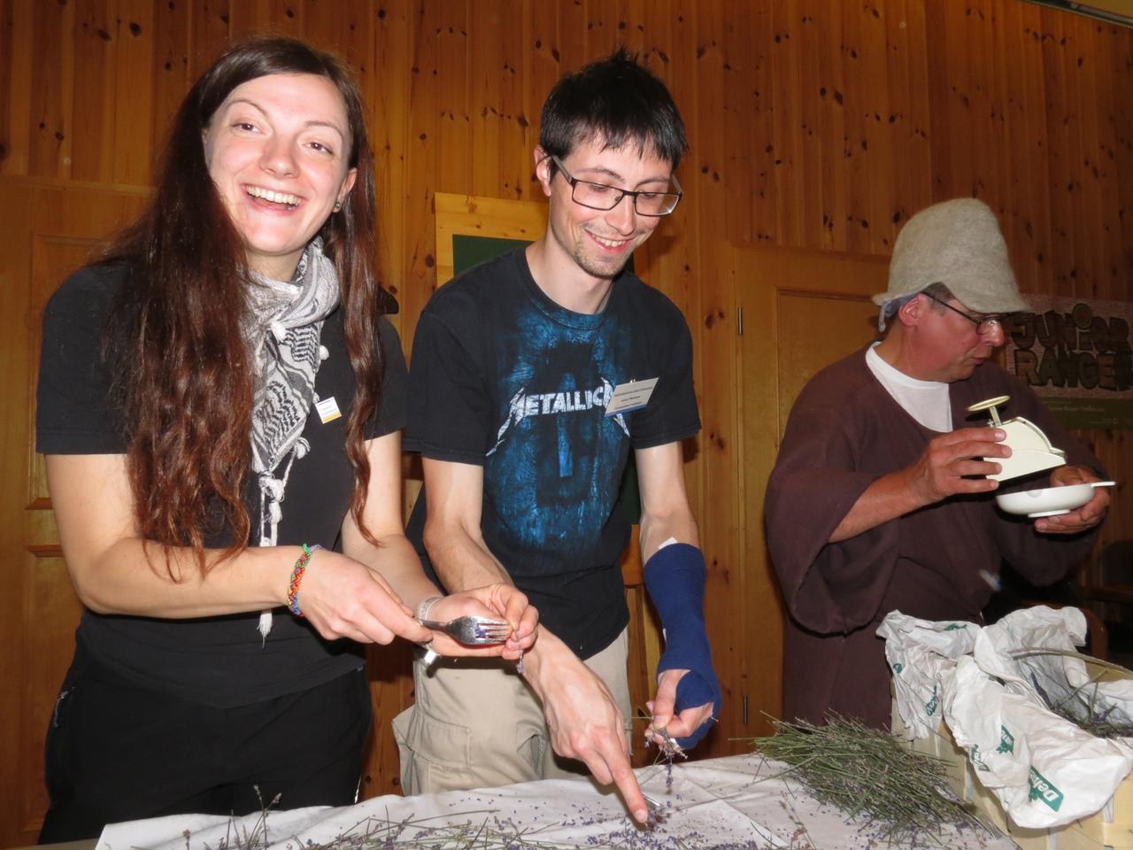 Kräuterseifen-Seminar im Nationalparkhaus