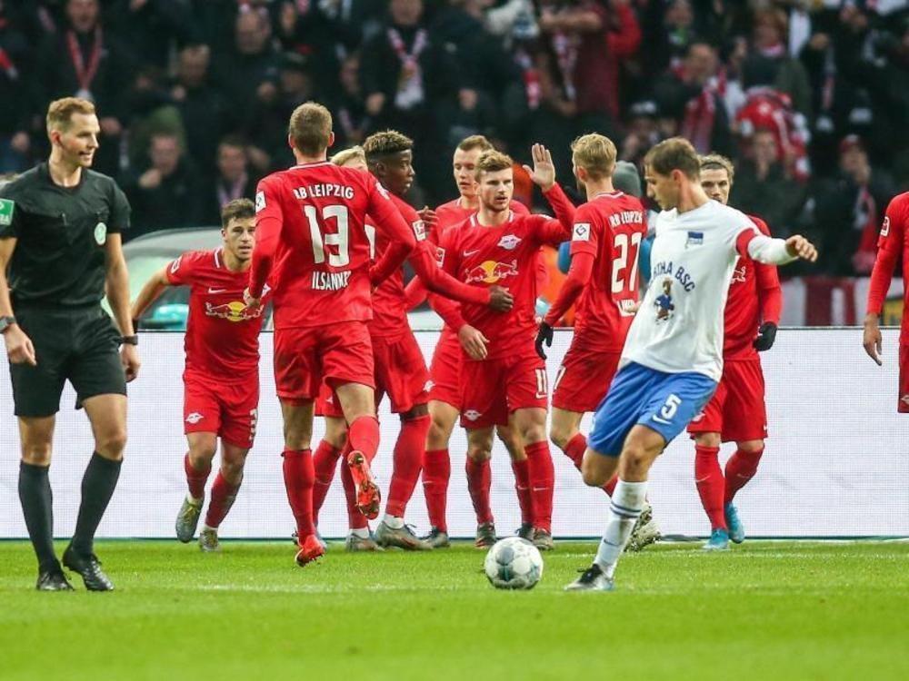 Bundesliga: Leipzig setzt Siegeszug fort