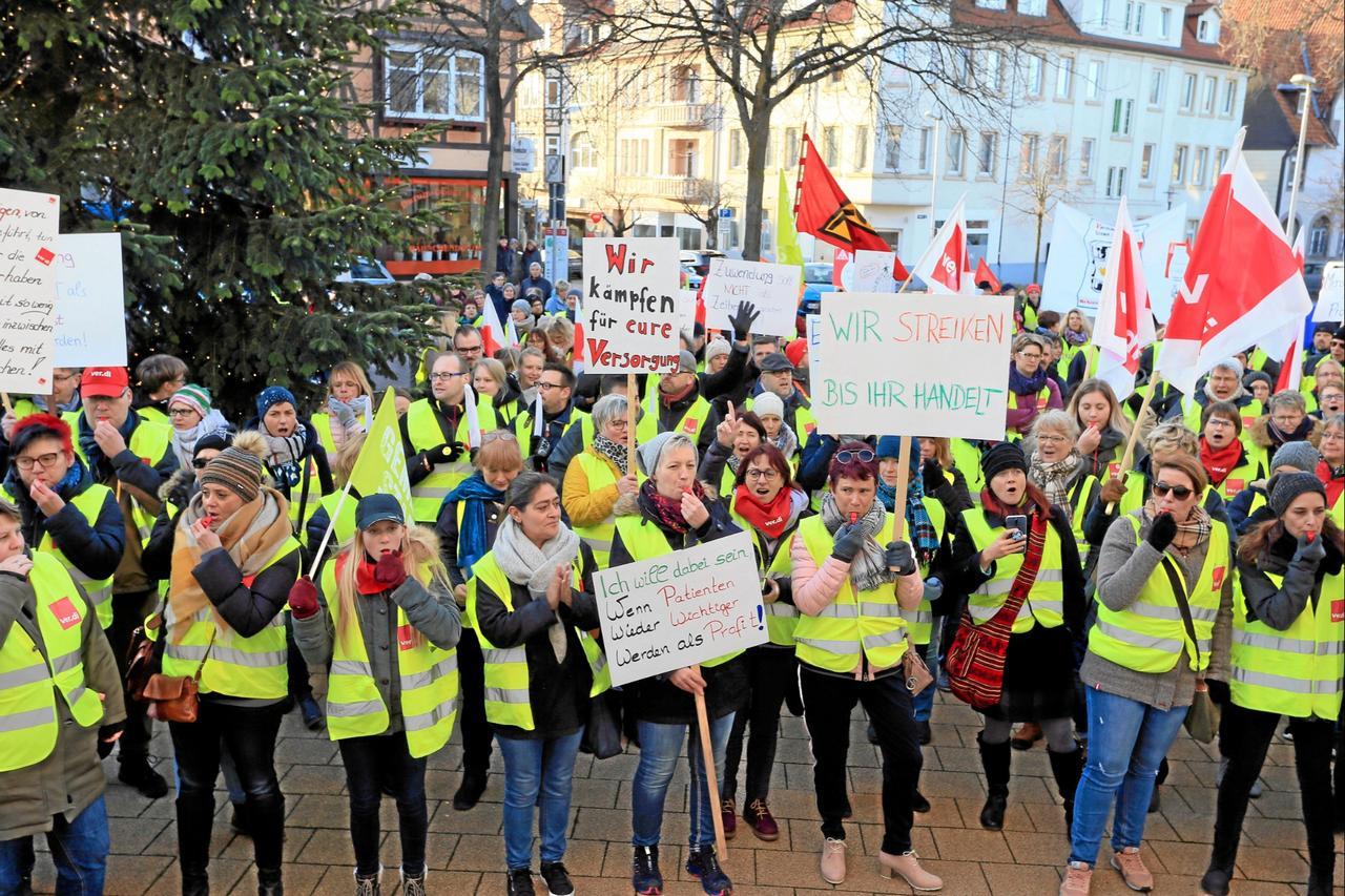 Unbefristeter Streik rückt näher