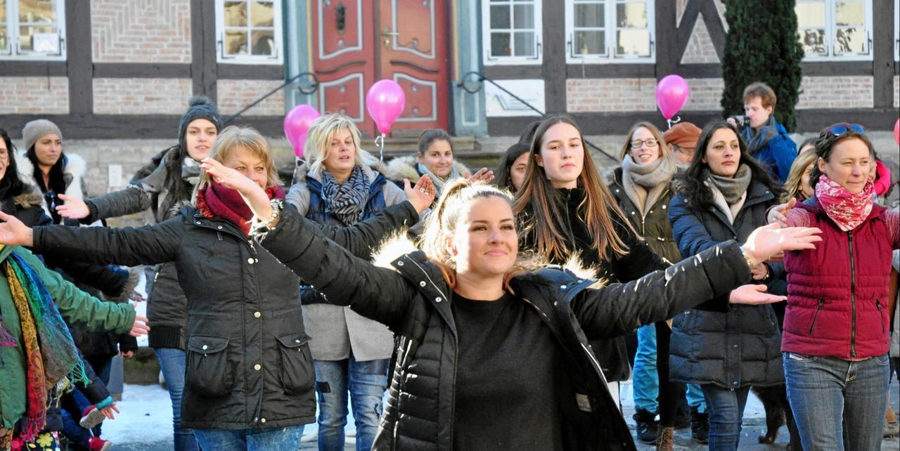 Goslar tanzt gegen Gewalt an Frauen