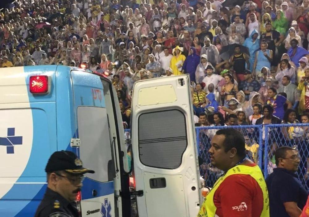 Unfall Karneval