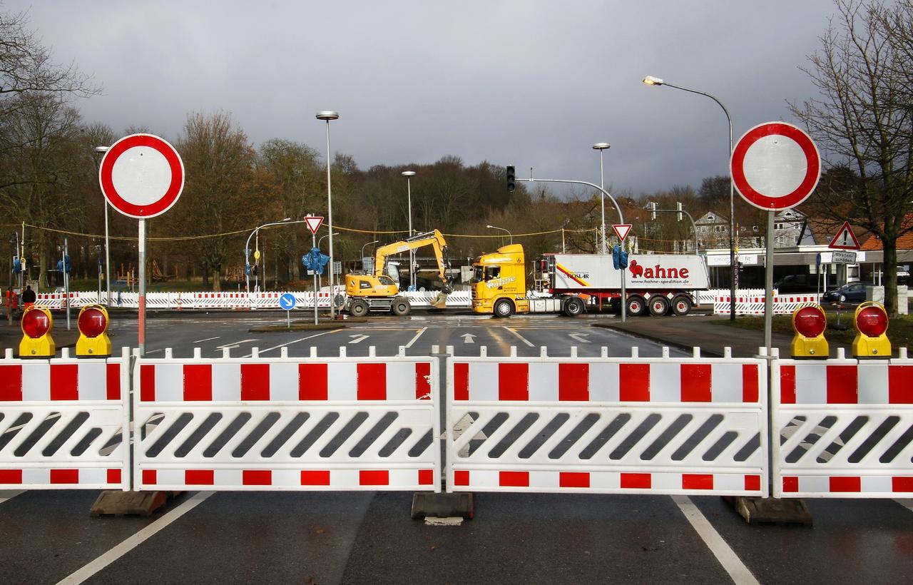 Okerstraße: Baustelle noch bis Sonntag