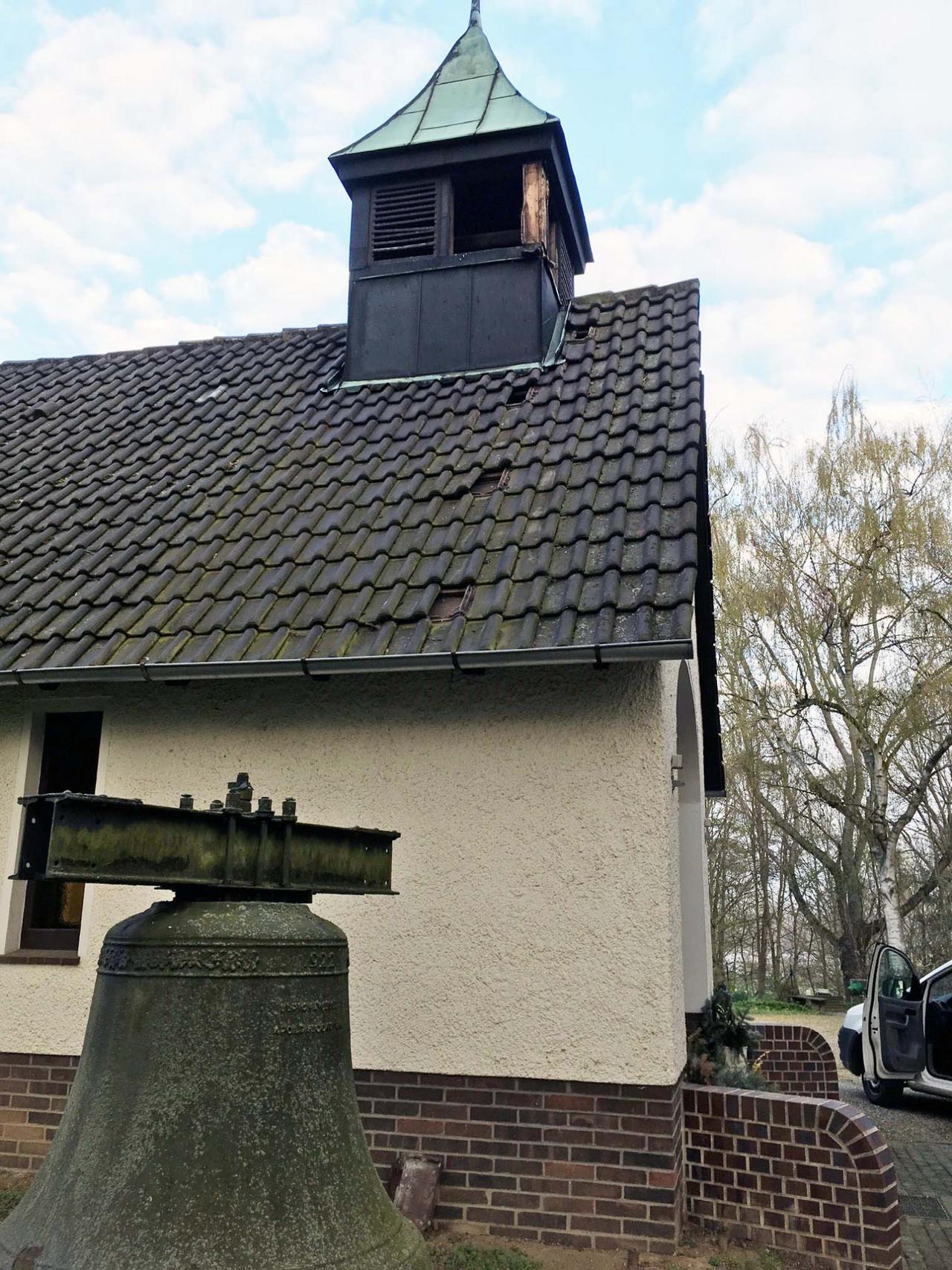 Einbruch in Friedhofskapelle