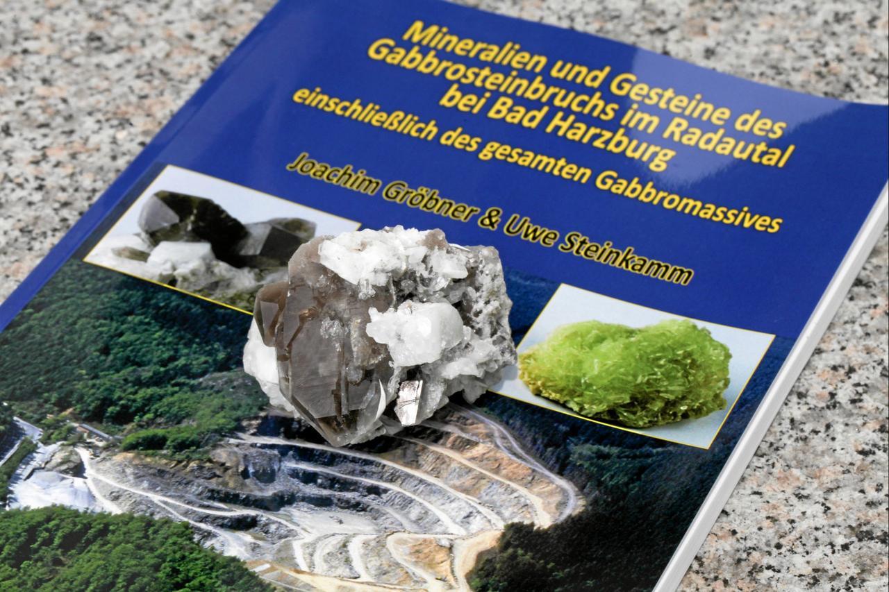 Neues Buch über Gesteine des Gabbromassivs
