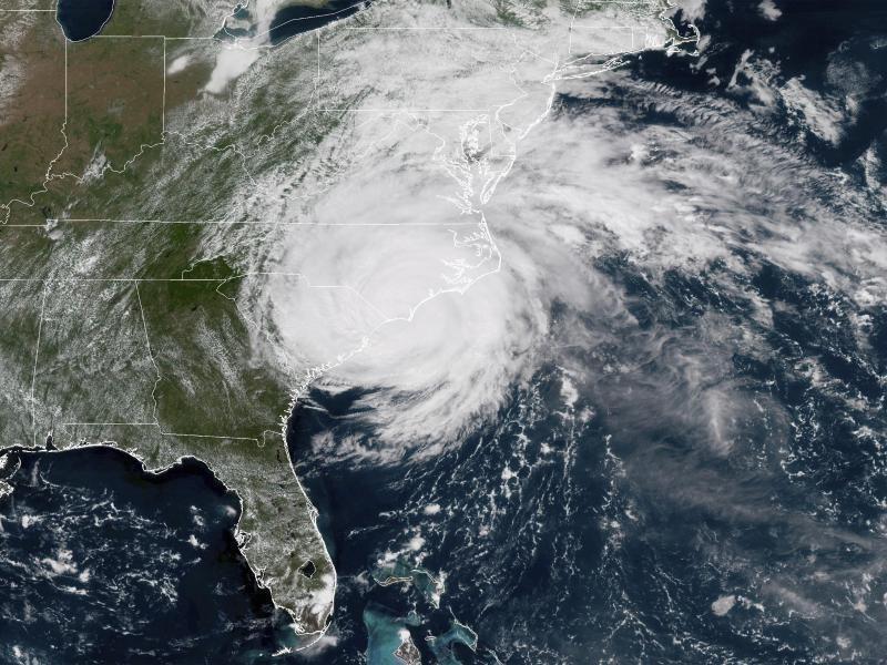 """""""Florence"""" trifft auf Südostküste der USA"""