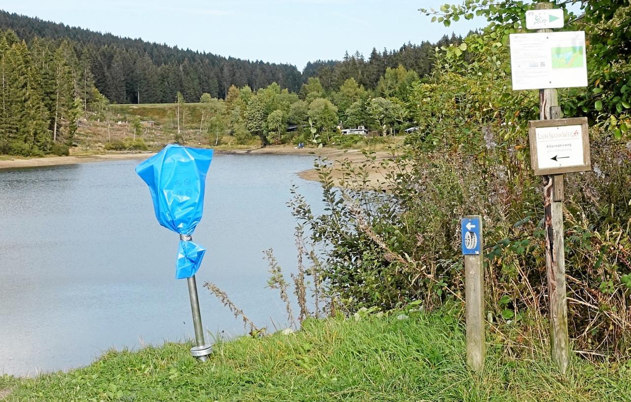 Grumbacher Teich bleibt Schutzzone