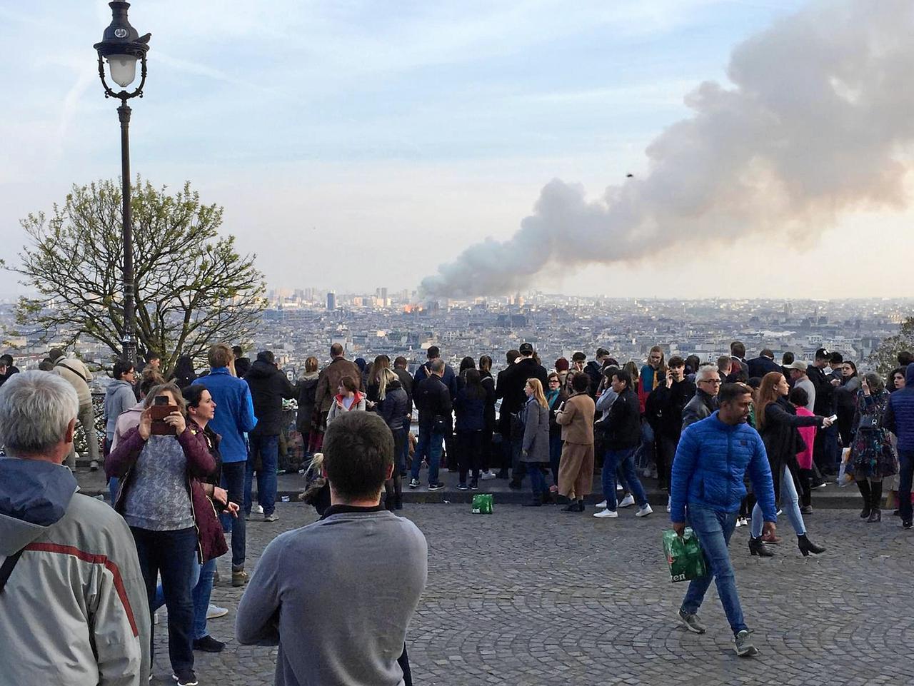 Goslarer erleben Brand von Notre-Dame mit