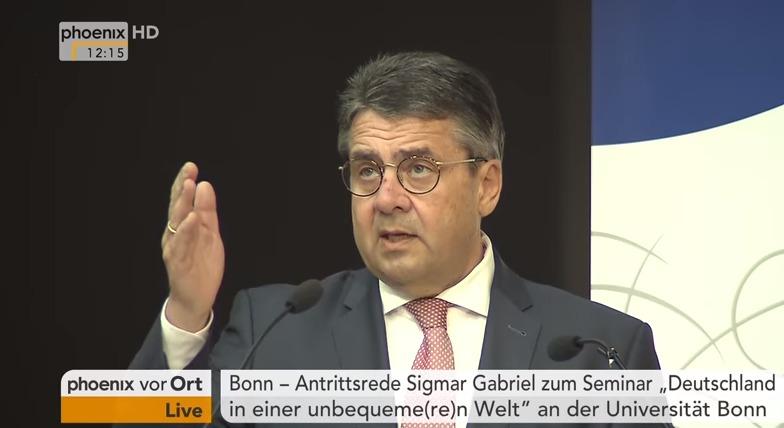 Gabriels Uni-Auftritt im Pressespiegel