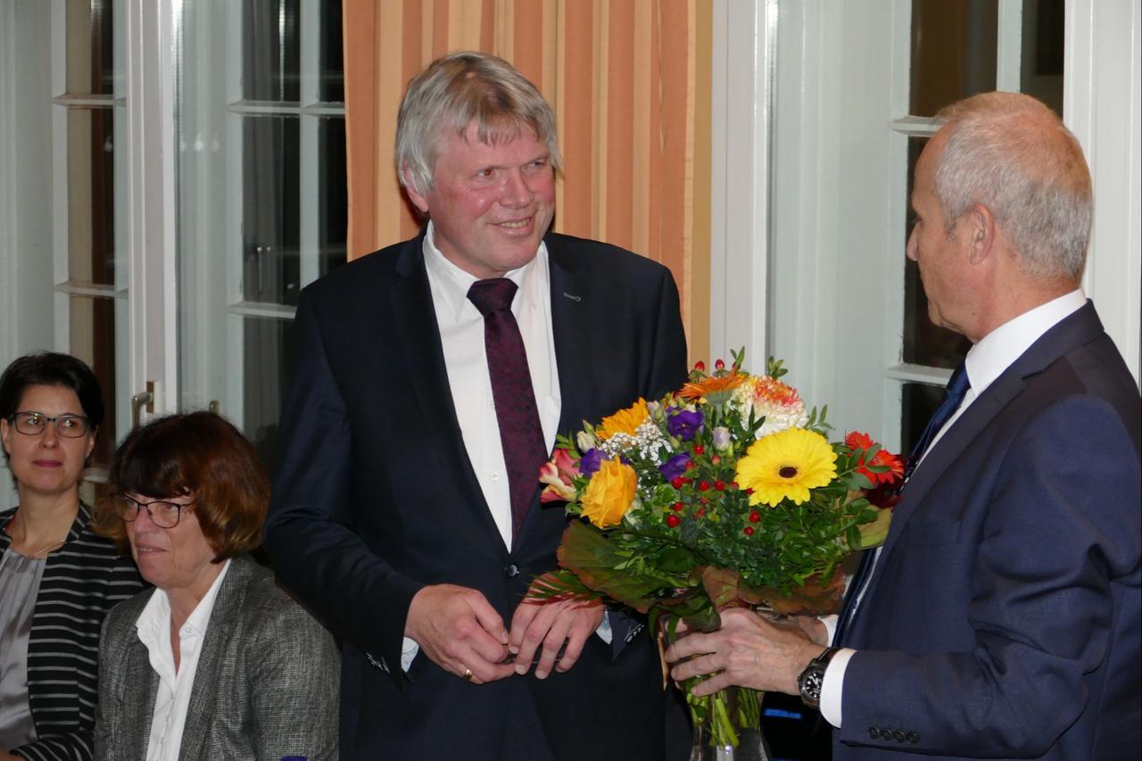 Landrat Martin Skiebe erneut Vorsitzender