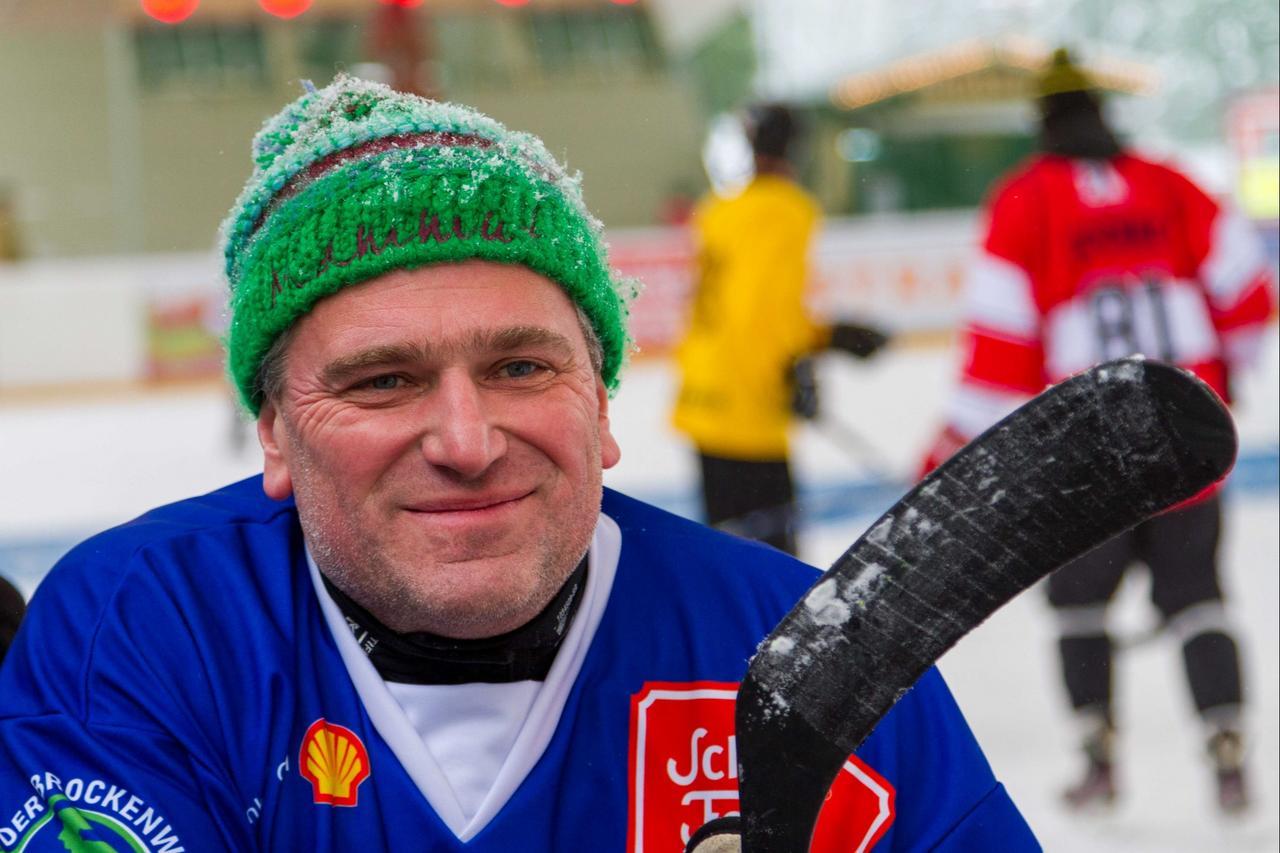 Zwei Tage Pondhockey in Braunlage