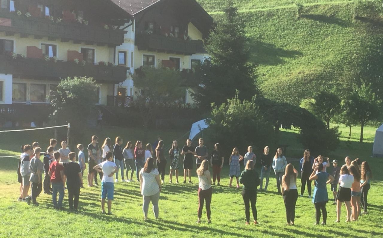 Sonne im Südtiroler Ahrntal