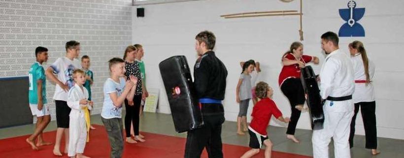 Ju-Jutsu in der Sportschule Goslar gelernt