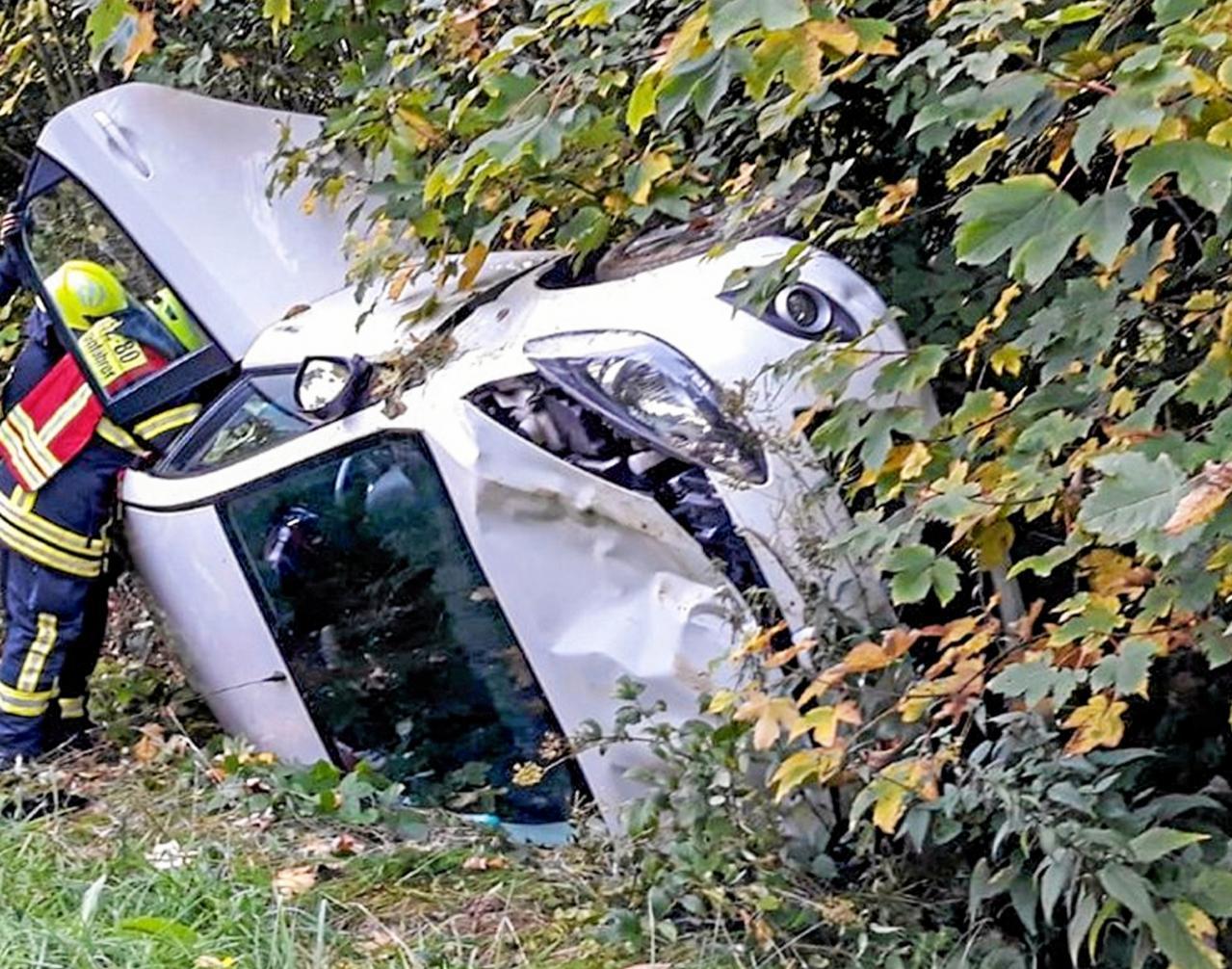 Fahrerin leicht verletzt