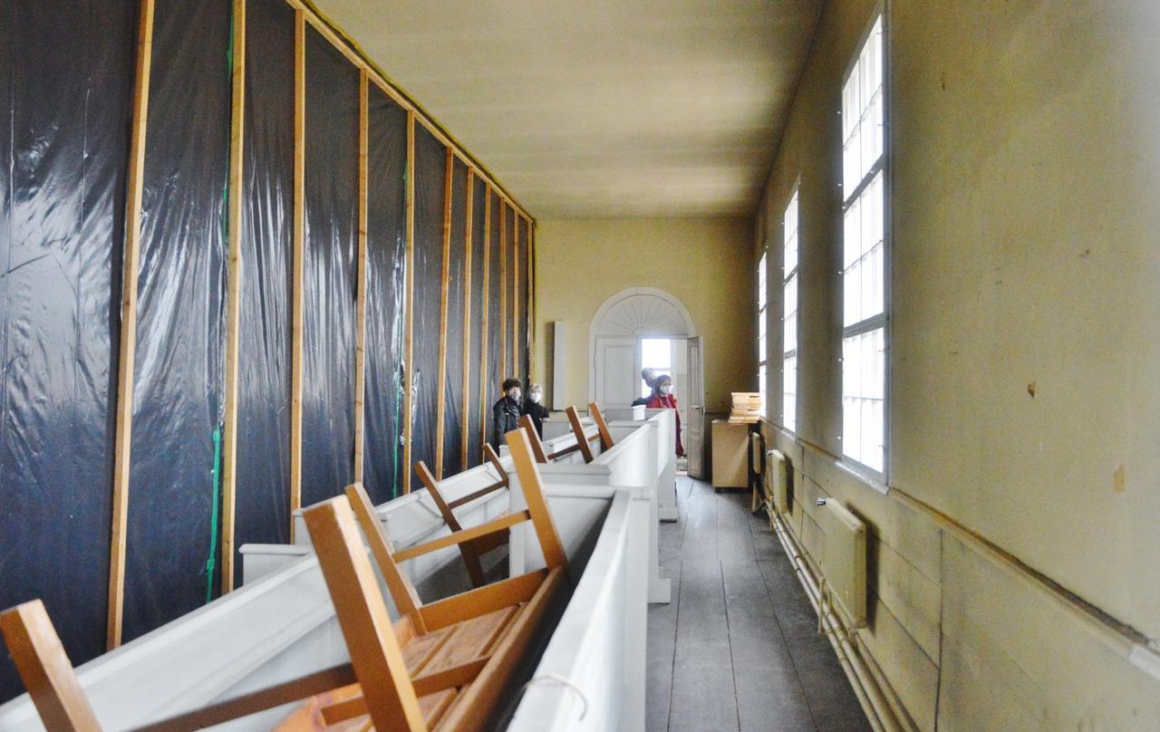 Eine neue Heizung für die Martinikirche