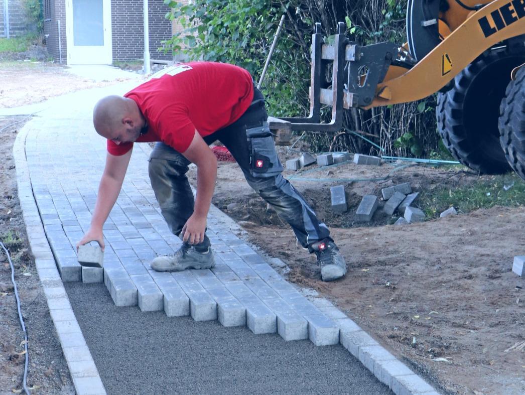 Start mit Bauarbeiten