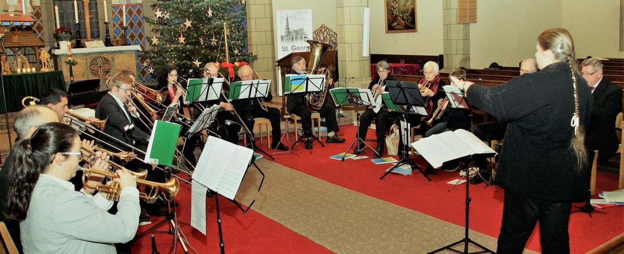 Festkonzert in voller St.-Georg-Kirche