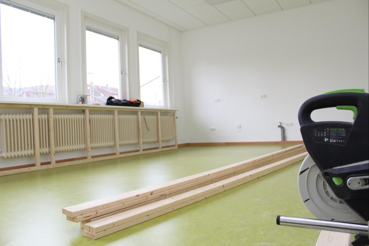"""Bauarbeiten im Kindergarten """"Am Markt"""""""