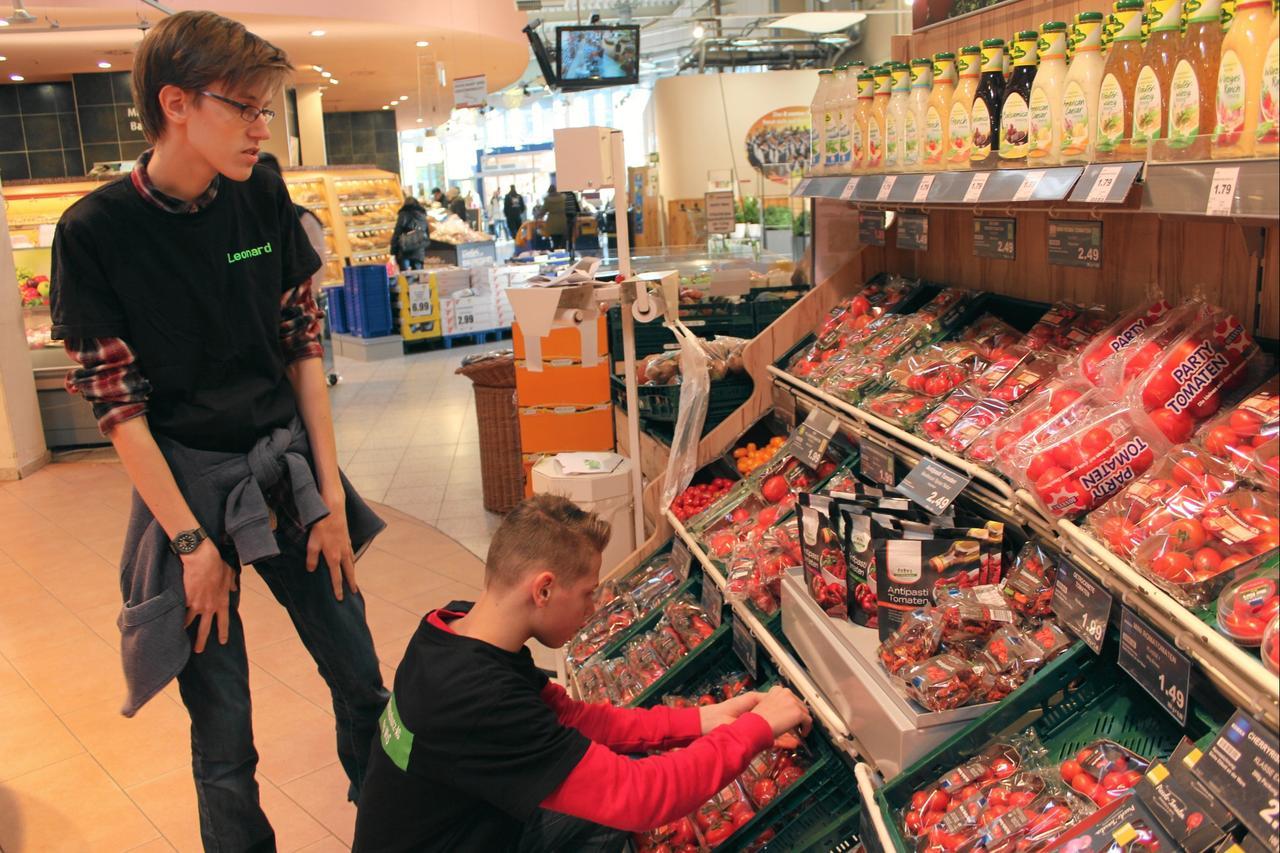 Klimaschutz im Supermarkt