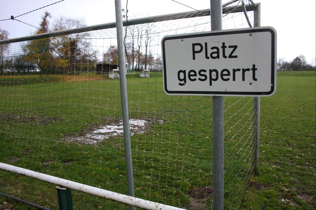 Fußballkreis sagt alle Spiele ab