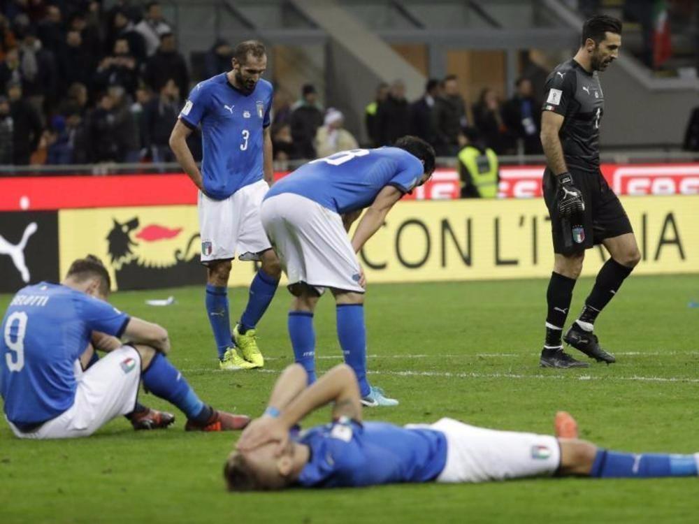 Tränen in San Siro: WM ohne Italien