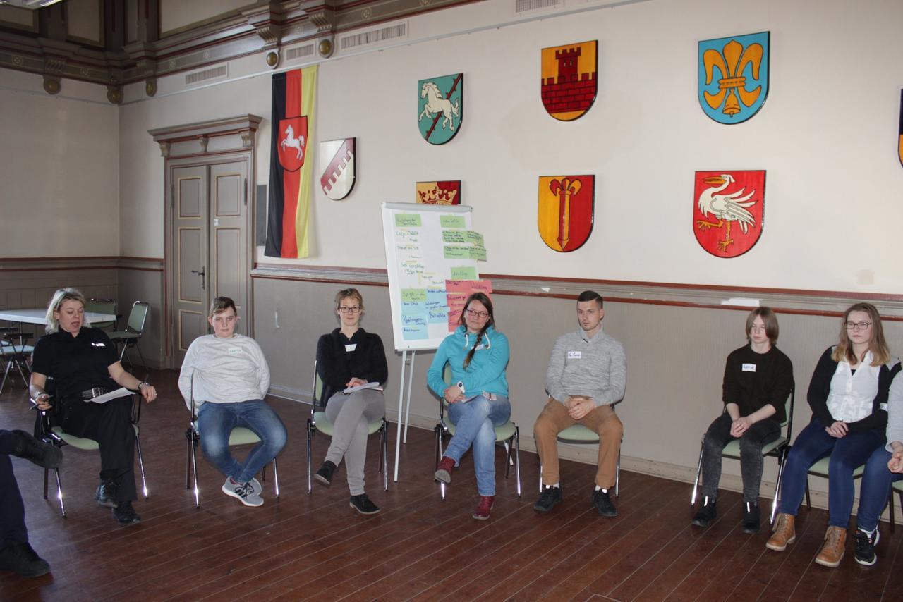 """Schulprojekt """"come together"""" mit der Ausbildung zu TeenScouts"""