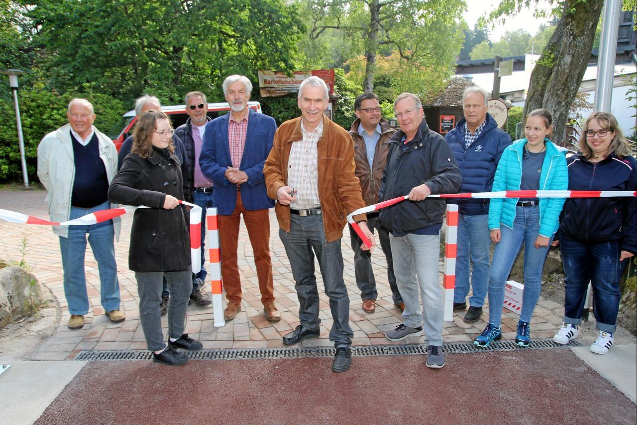 Brücke am Kurgastzentrum eröffnet