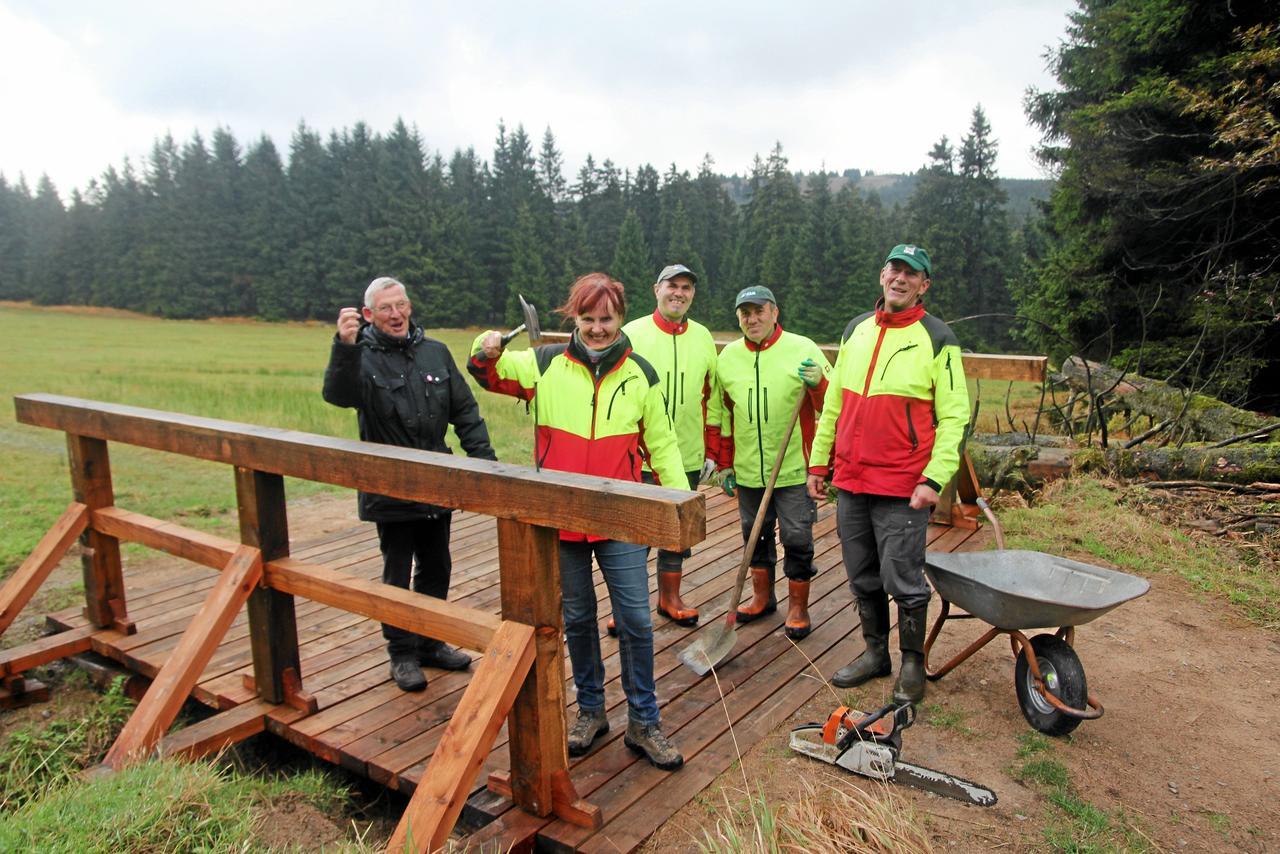 Nationalpark erneuert Loipenbrücken