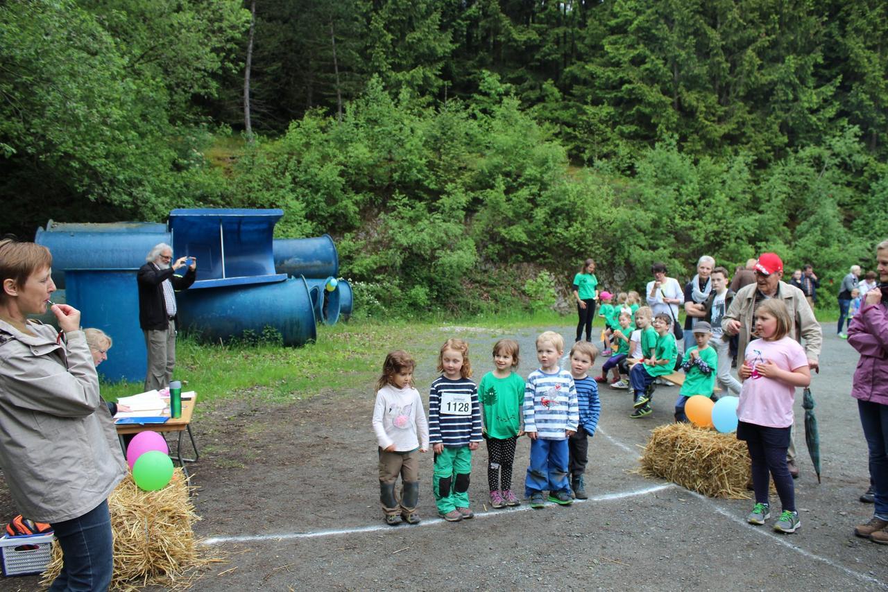 Spendenlauf der Waldgeistergruppe