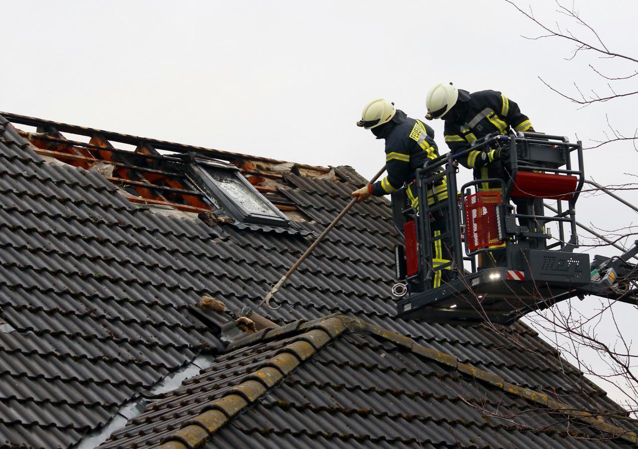 Dachstuhlbrand in Liebenburg