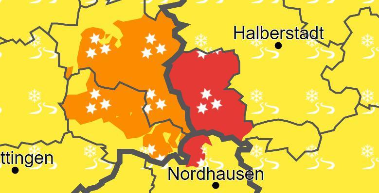 Der Harzer Winter und die Warnungen