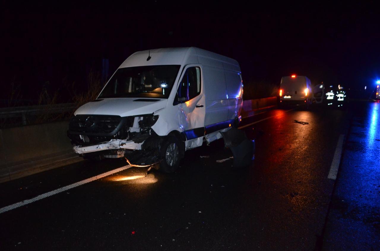 Zwei Unfälle in der Nacht auf der A7