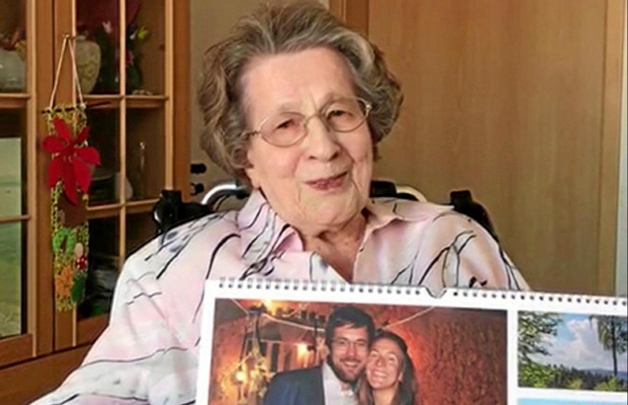 Margot Hunsen wird heute 100 Jahre alt