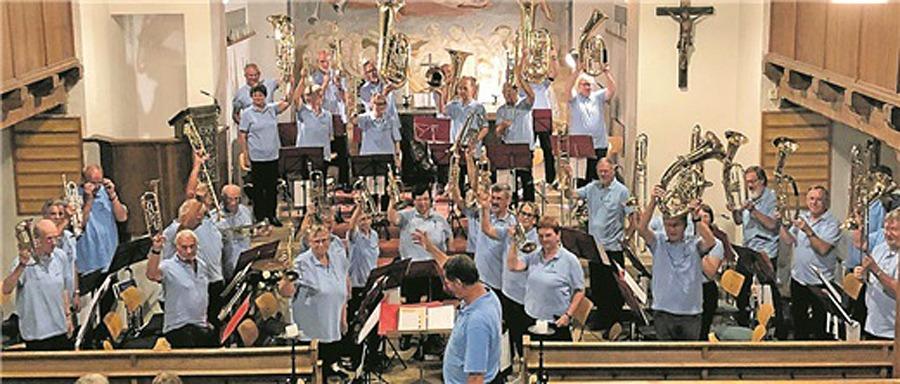 Bläsermusik in der Marktkirche