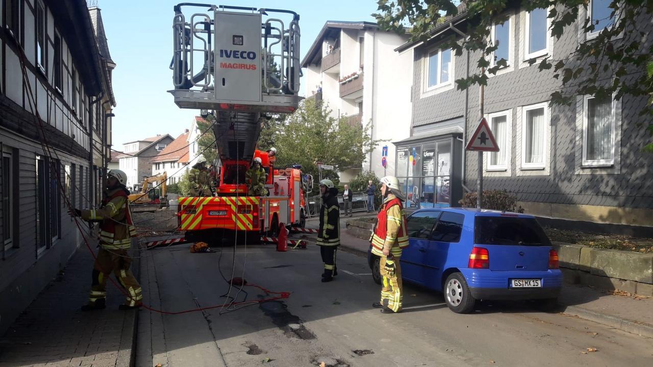 Feuerwehr retten Patienten