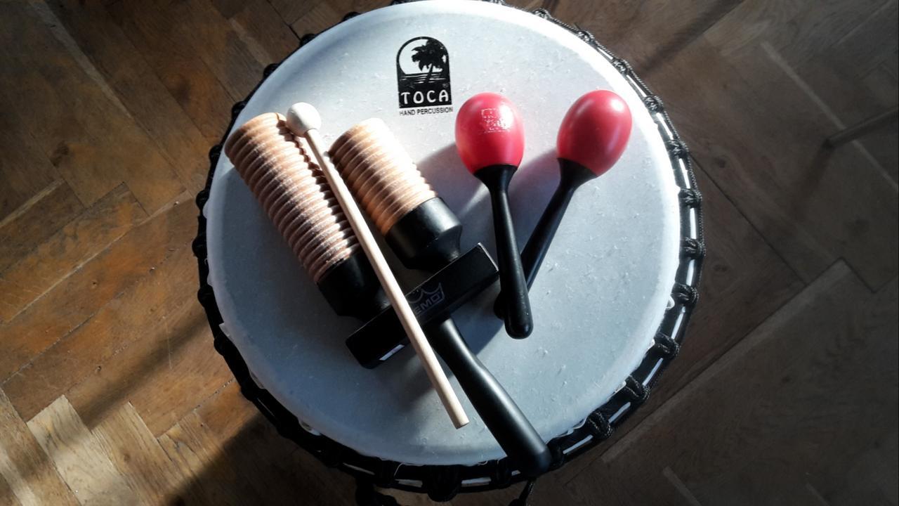 Gemeinsam musizieren beim Drum Circle