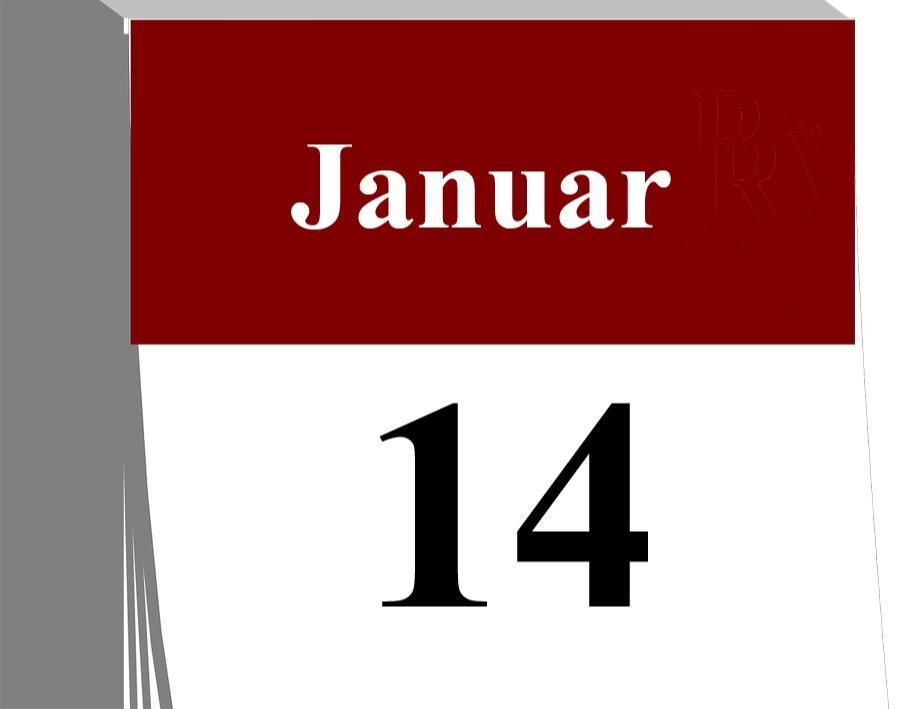 Der 14. Januar...