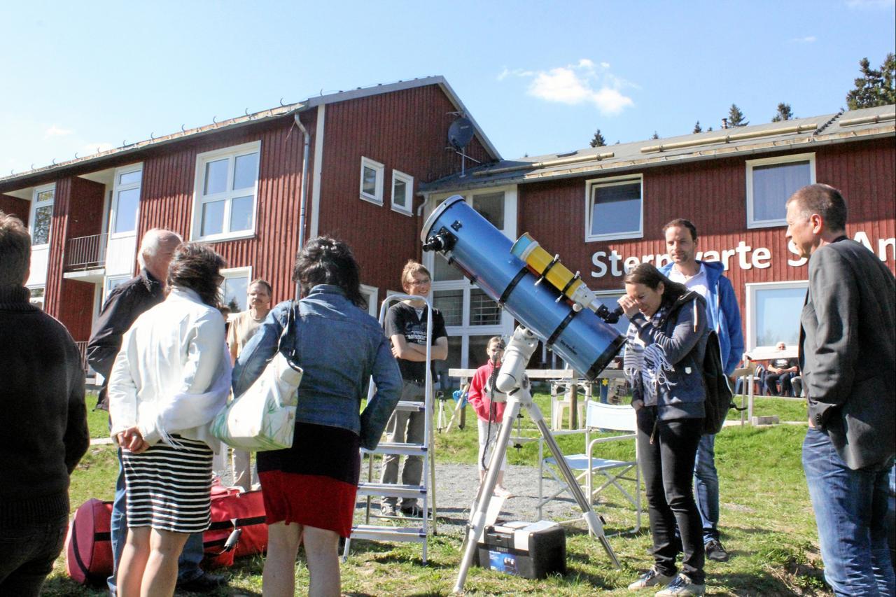 Merkur-Transit an der Sternwarte sehen