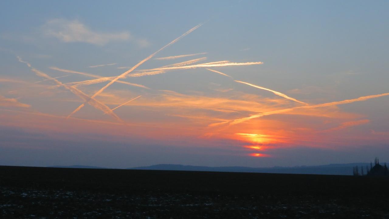 Flugshow als Wettervorhersage