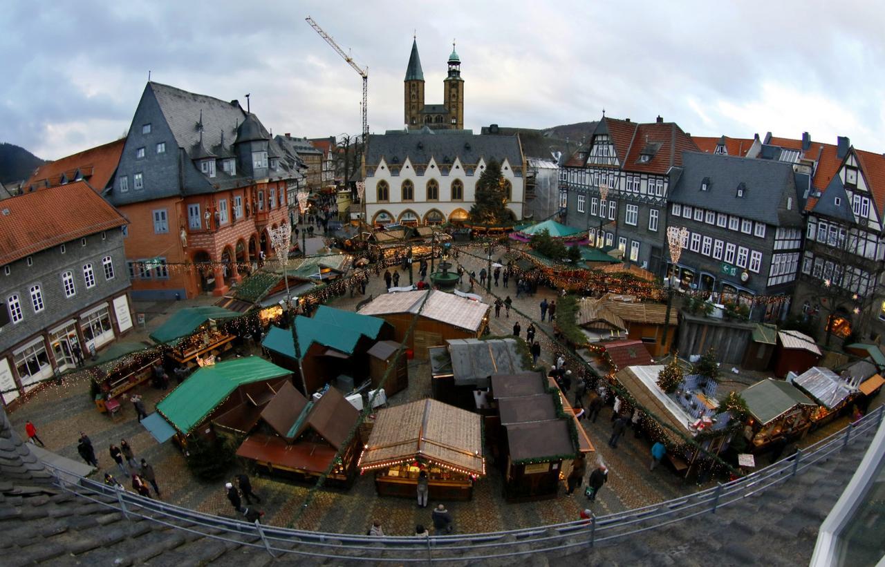 Goslar Weihnachtsmarkt.Halbzeit Auf Dem Weihnachtsmarkt Goslar Gz Live