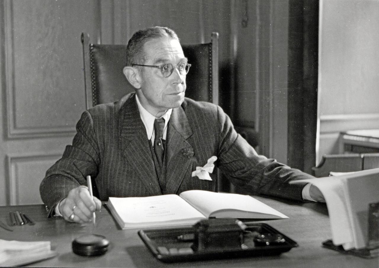 Friedrich Klinge - der erste Vorsitzende