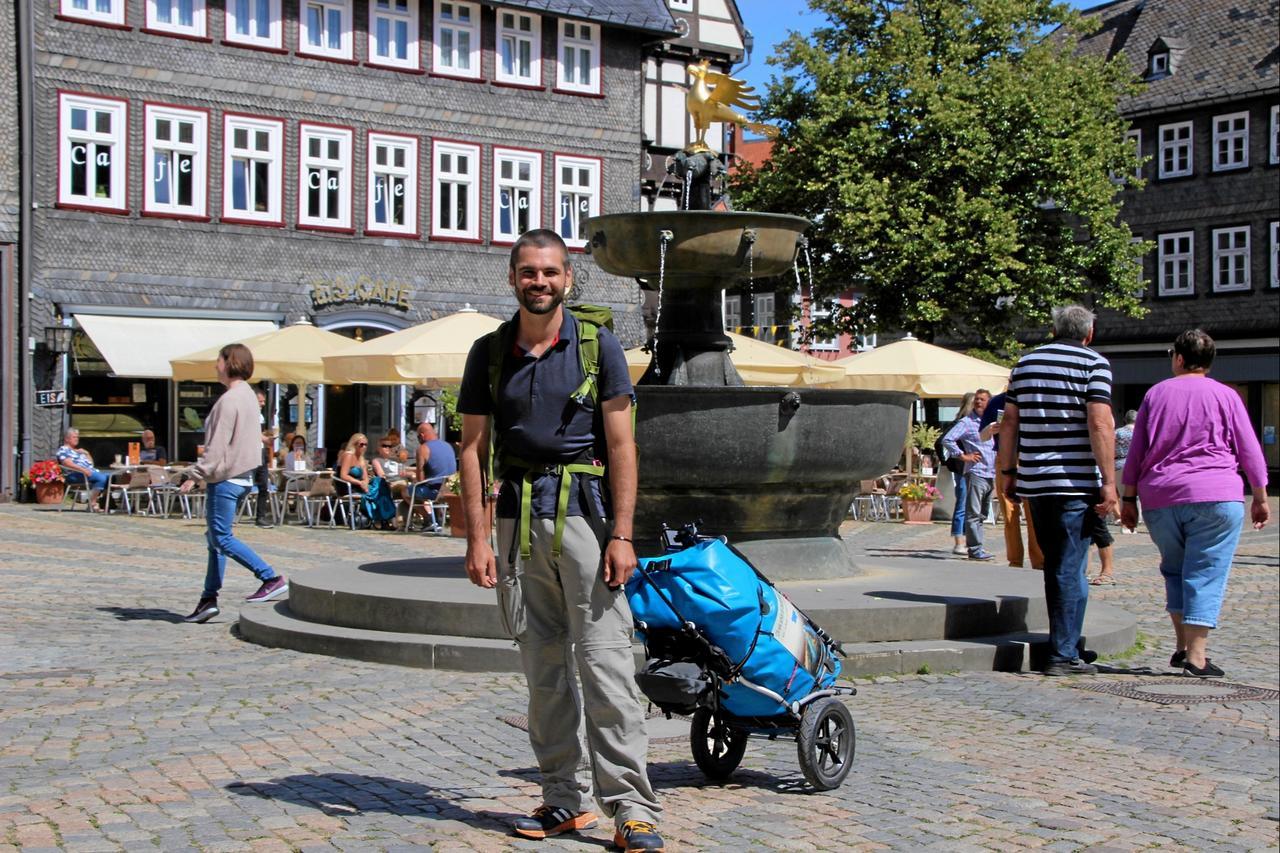 Markus Mohr wandert quer durch Deutschland