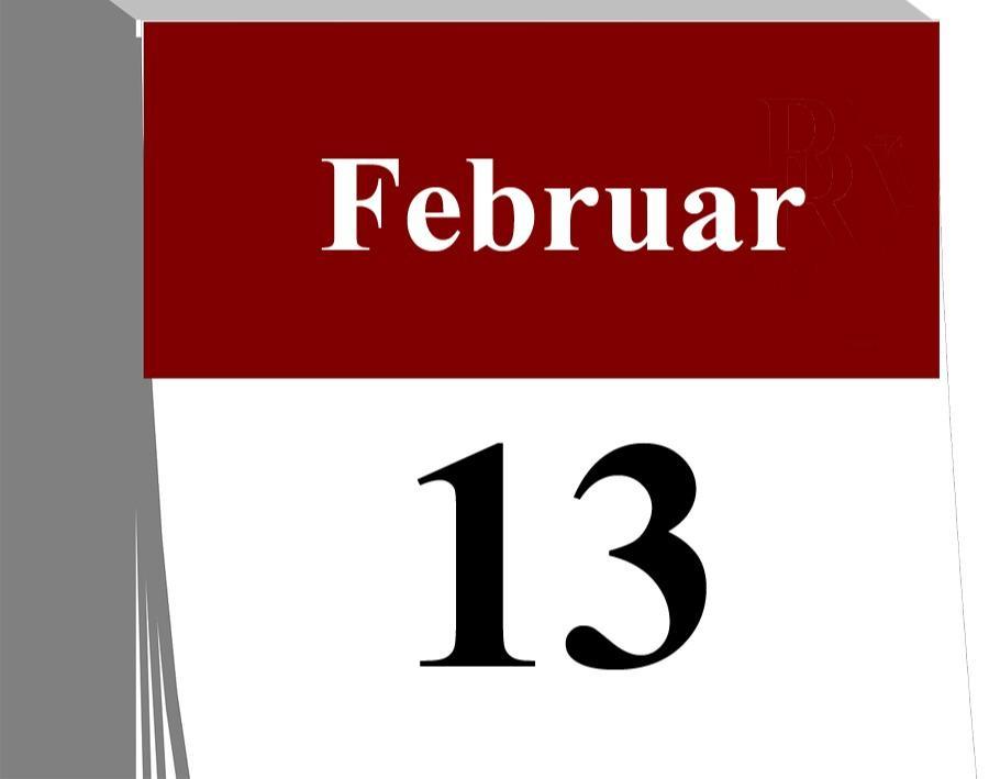 Der13. Februar...