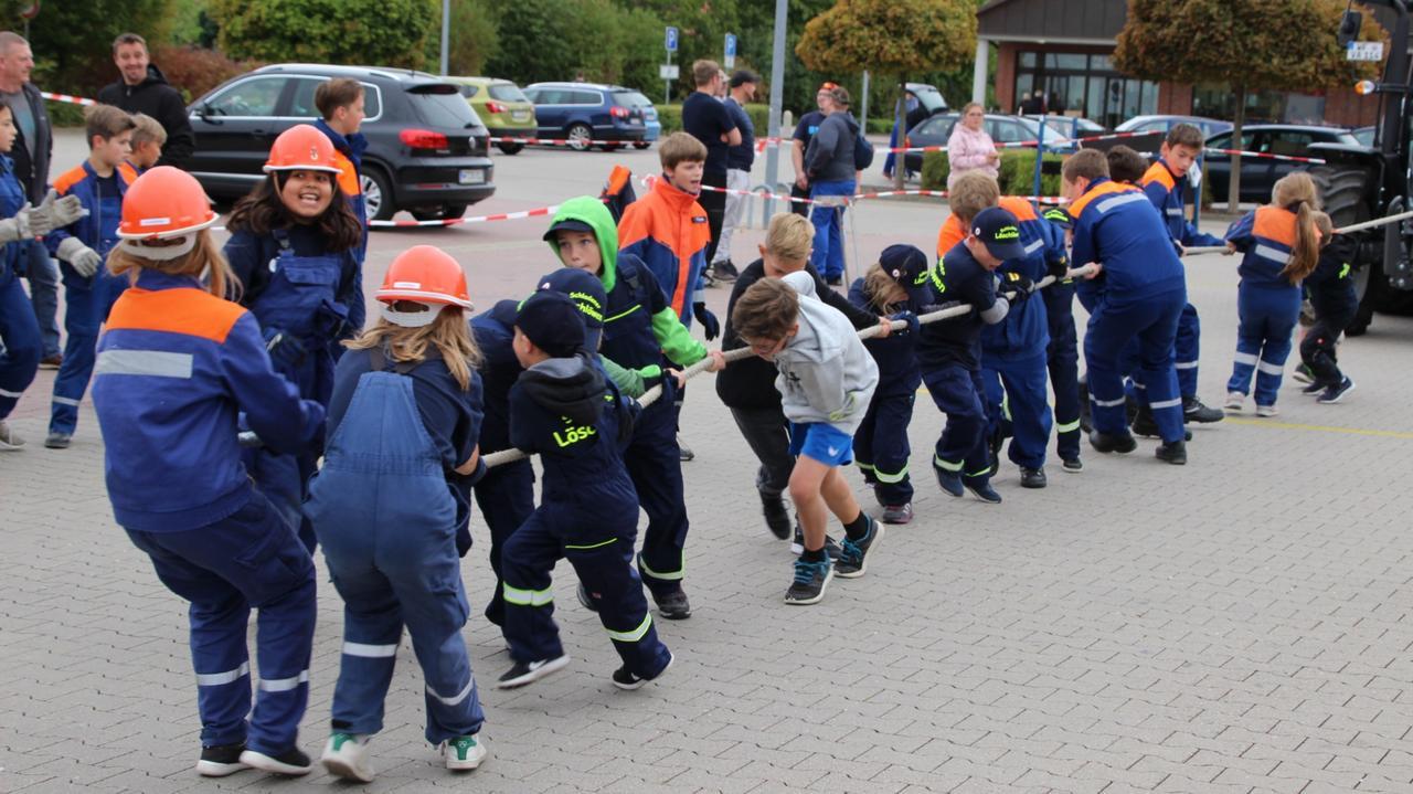 In der Kinderfeuerwehr sind 18 aktiv dabei