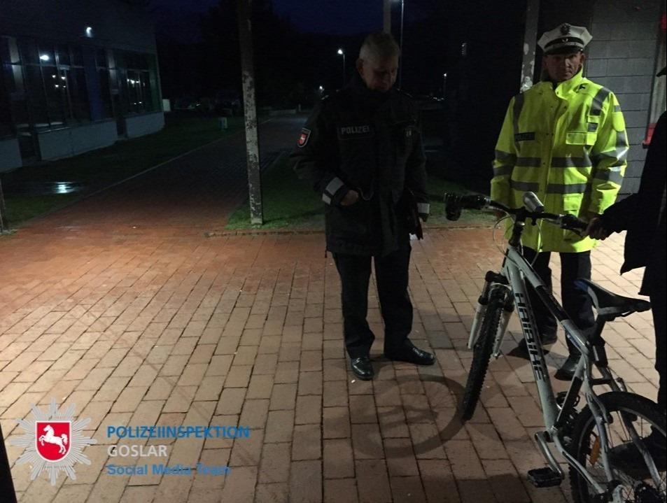 Fahrradkontrolle in Langelsheim