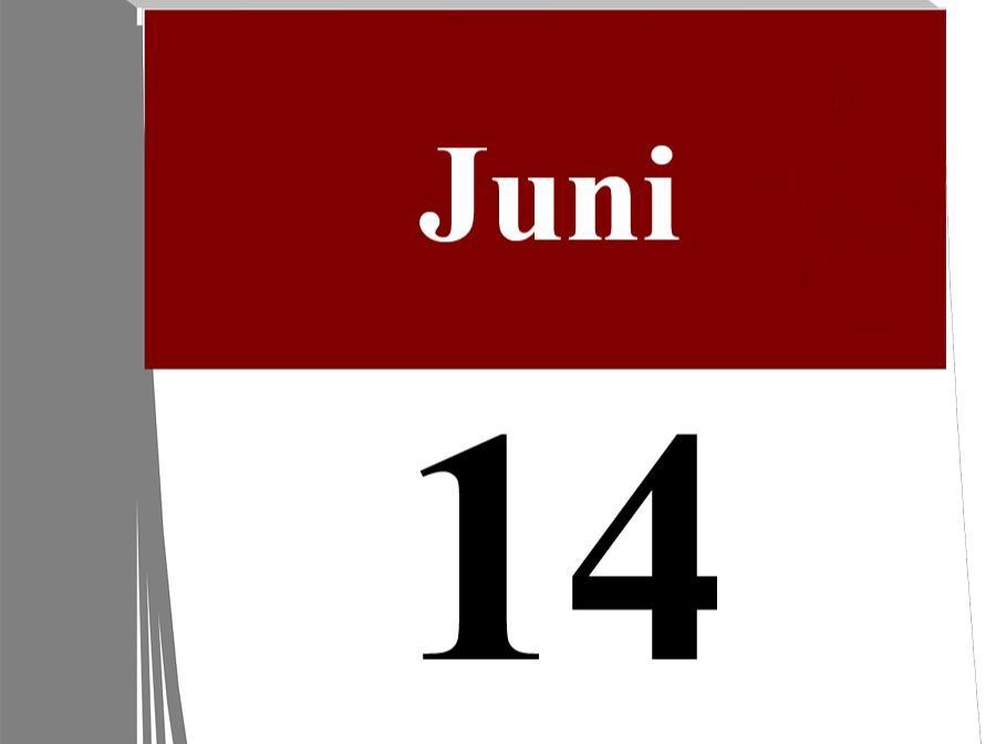 Der 14. Juni...