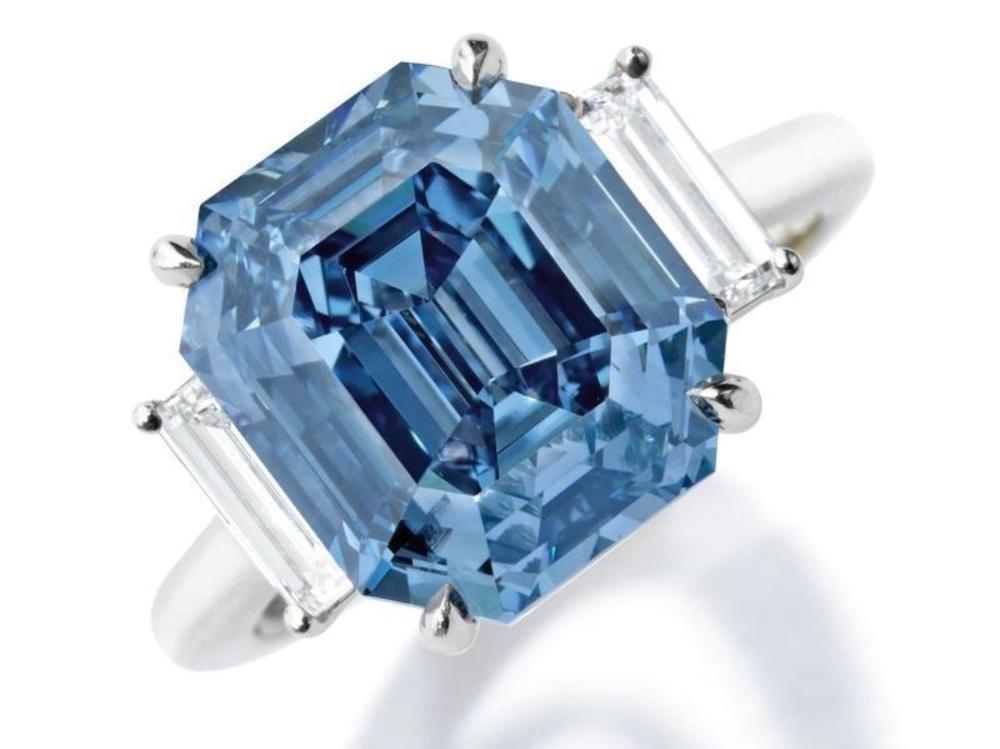 Blauer Diamant brachte 15,1 Mio. Dollar