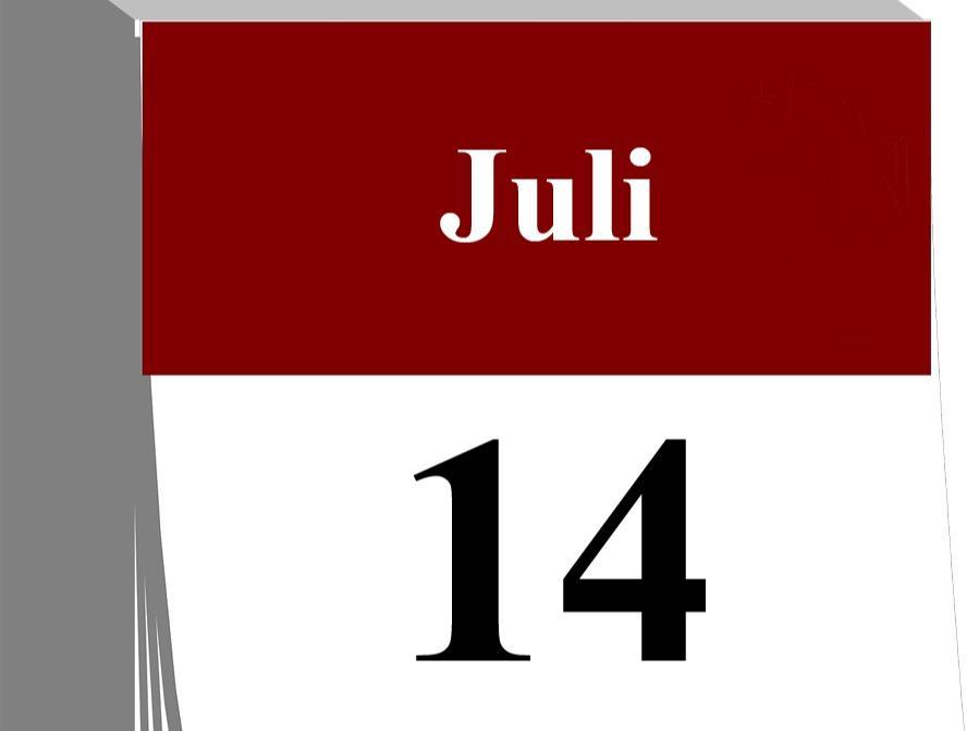 Der 14. Juli...