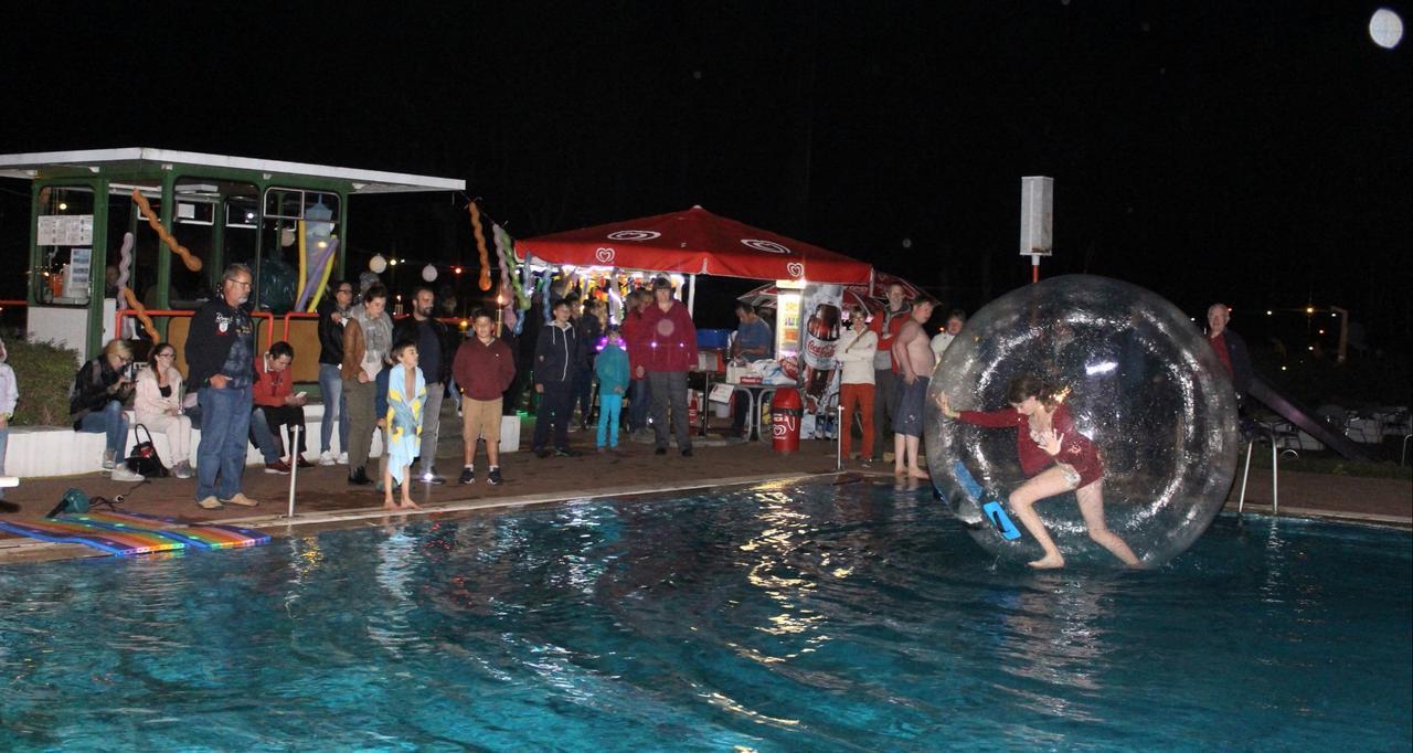 Freibad-Meisterschaft statt Lichterfest